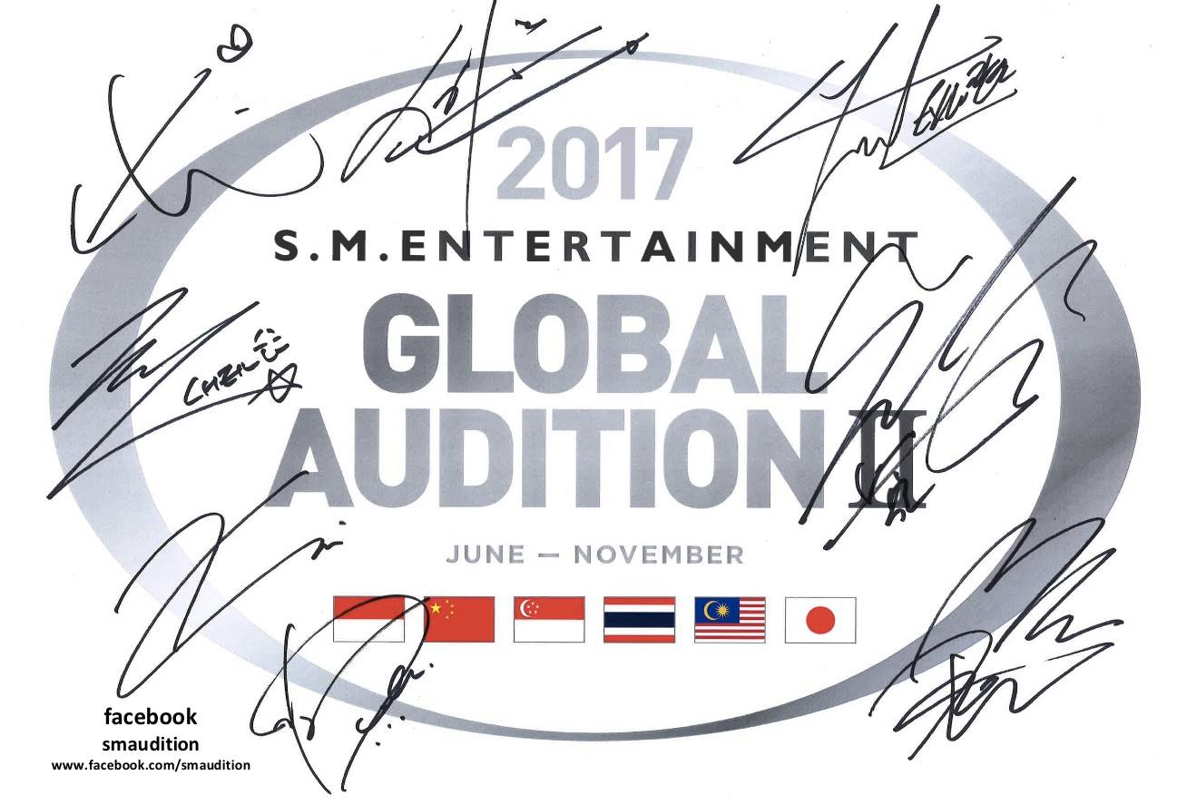 S M  Entertainment To Hold Global Audition In Singapore This August